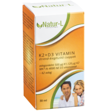K2+D3 vitamin  étrend-kiegészítő cseppek