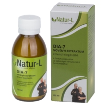 Dia-7  növényi extraktum étrend-kiegészítő 125ml, 50 adag