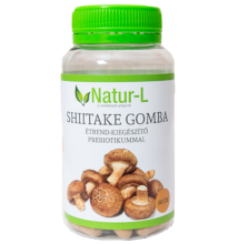 SHIITAKE GOMBA   étrend-kiegészítő PREBIOTIKUMMAL 60 db növényi kapszula