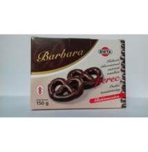 Barbara gluténmentes perec vaníliás kakaós étbev.mártott 150g