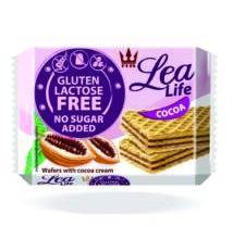 Lea life ostya Kakaós laktózmentes gluténmentes hcm 95g
