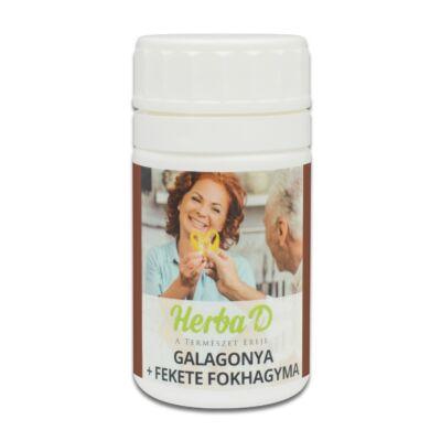 Galagonya + fekete fokhagyma Étrend-kiegészítő kapszula prebiotikummal