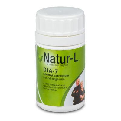 Dia-7 + növényi extraktum étrend-kiegészítő 50 db kapszula