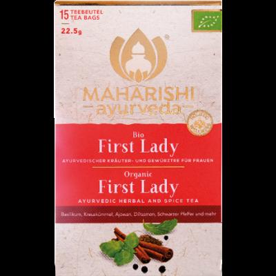First Lady Tea organic, 15 filteres, 22,5 g