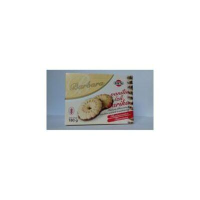 Barbara gluténmentes teasütemény vaníliás karika 180g