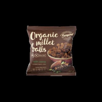 Biopont Extrudált Kölesgolyó kakaós gluténmentes 60g