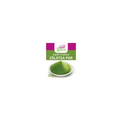 Szafi Reform Japán Matcha tea zöldtea por 50g